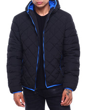 Buyers Picks - Quilted Bubble Jacket Contrast Lining-2400233