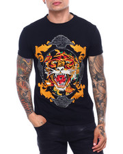 Shirts - Rococo Tiger Crystal Tee-2399696