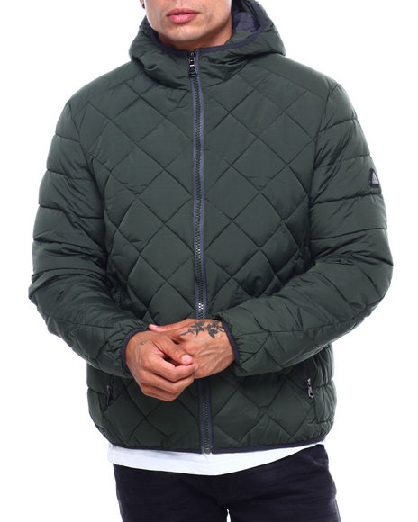 Buyers Picks - Quilted Bubble Jacket Contrast Lining