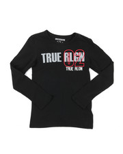 True Religion - True City Long Sleeve Tee (8-20)-2398921