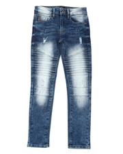 Boys - Biker Denim Jeans (8-18)-2398975