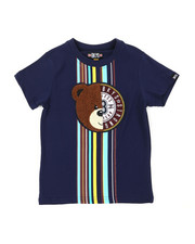 Boys - Tee W/ Stripes & Chenille Patch (4-7)-2399530