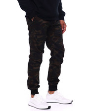 Mens-Fall - TWILL DRAWSTRING CARGO PANT-2399708