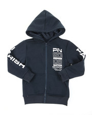 Hoodies - Fleece Full Zip Hoodie (4-7)-2399827
