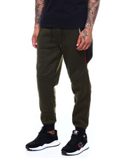 Mens-Fall - Pipe side panel jogger-2400088