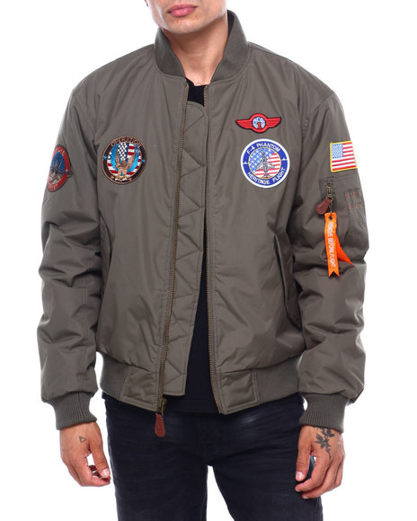 Buyers Picks - Ma-1 Flight Jacket w Patches