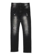Boys - Biker Denim Jeans (8-18)-2398982