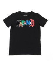 Black Pyramid - Collage Type Tee (5-18)-2399461