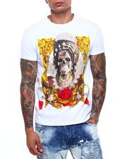 Shirts - Queen of Hearts Crystal Tee-2400043