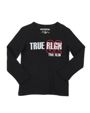 True Religion - True City Long Sleeve Tee (4-7)-2398916