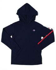 Hoodies - Champion Script L/S Jersey Pullover (2T-4T)-2398072
