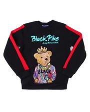 Sweatshirts & Sweaters - Fleece Crew Neck W/Patch (4-7)-2398336