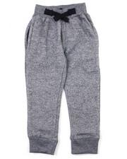 Sweatpants - Crindle Fleece Jogger Pants (2T-4T)-2398786