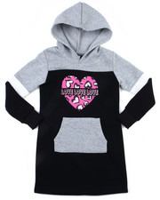 Dresses - Fleece Sweatshirt Dress (7-16)-2399046