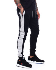 Jeans & Pants - Tech Fleece Ribbed Side Panel Jogger-2400037