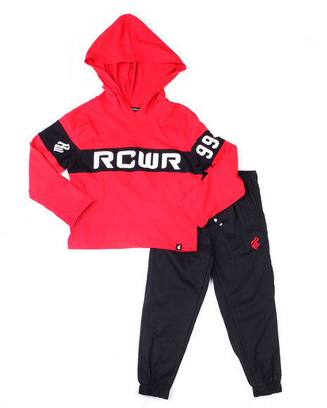 Rocawear - 2PC Hoodie + Twill Jogger Set (Infant)