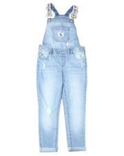 Overalls & Jumpers - Logo Boyfriend Denim Overalls (7-16)-2398289