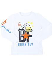 Boys - Long Sleeve Graphic Tee (4-7)-2399823