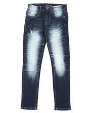 Boys - Biker Denim Jeans (8-18)-2398968