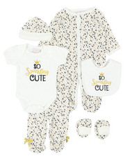Duck Duck Goose - 7 Piece So Sparkling Cute Gift Set (Infant)-2400358