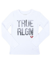True Religion - True City Long Sleeve Tee (8-20)-2398947