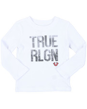 True Religion - True City Long Sleeve Tee (4-7)-2398942