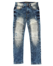 Boys - Biker Denim Jeans (8-18)-2398989