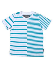 Boys - Split Stripe Crewneck S/S Tee (8-20)-2398472