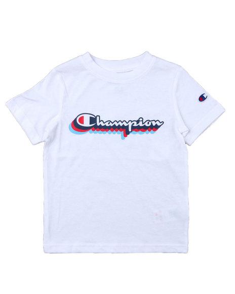 Champion - Retro Script SS Tee (4-7)