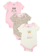 Infant & Newborn - 3 Pack Creepers Set (0-24Mo)-2398851