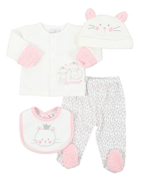 Duck Duck Goose - 4 Piece Quilted Set (Infant)