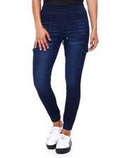 Fashion Lab - Pull On Denim Jogger W/Drawstring-2396088