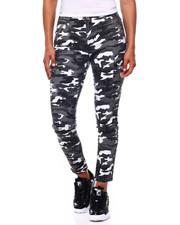 Fashion Lab - Camo Zipper Cargo Skinny-2396204