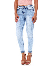 Bottoms - High Rise Push Up Skinny Jean-2396142