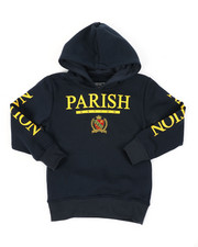 Hoodies - Fleece Pop Over Hoodie (4-7)-2400367