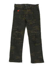Boys - Fashion Camo Denim Jeans (4-7)-2400560