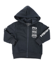 Boys - Fleece Full Zip Hoodie (2T-4T)-2400381