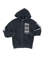 Parish - Fleece Full Zip Hoodie (8-20)-2400389