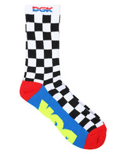 DRJ SOCK SHOP - Team Hustle Crew Socks-2400838