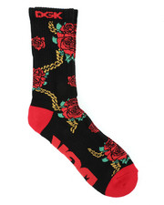 DRJ SOCK SHOP - Lavish Crew Socks-2400827