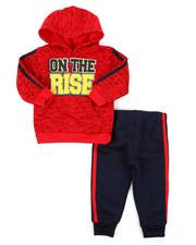 Infant & Newborn - 2pc Fleece Hoodie Set (Infant)-2397876