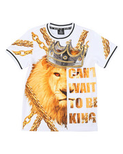 Sizes 8-20 - Big Kids - Can't Wait To Be King Jersey Tee (8-20)-2400543