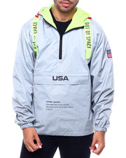 Men - Reflective Space Windbreaker-2401267