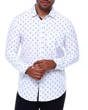 Men - Anchor Ls Woven Shirt-2401281