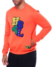 Men - Hustle Chenille Crewneck Sweatshirt-2401380