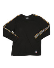 Phat Farm - Long Sleeve Poly Taped Crew Neck Shirt (8-18)-2401688