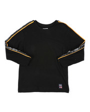 Phat Farm - Long Sleeve Poly Taped Crew Neck Shirt (4-7)-2401673