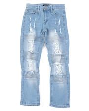 Bottoms - Stretch Jeans W/ Rip & Tear Detail (8-18)-2401833