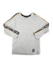 Phat Farm - Long Sleeve Poly Taped Crew Neck Shirt (4-7)-2401678