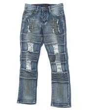 Jeans - Stretch Jeans W/ Rip & Tear Detail (8-18)-2401812